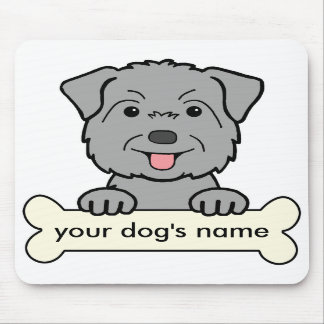 Personalized Glen of Imaal Terrier Mouse Pads