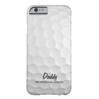 Personalized Golf Ball Barely There iPhone 6 Case