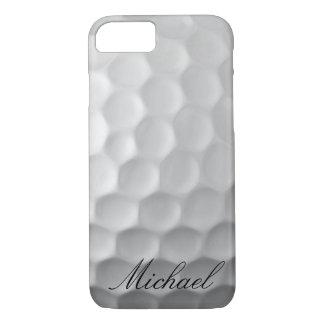Personalized Golf Ball Dimples Texture Pattern iPhone 8/7 Case