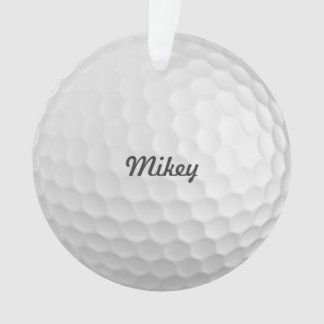 Personalized Golf Ball Ornament