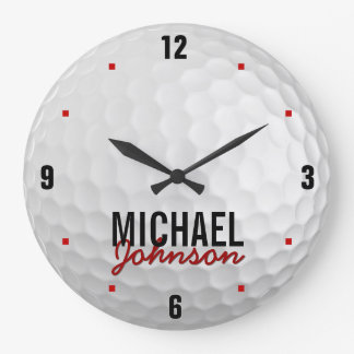 Personalized Golf Clock