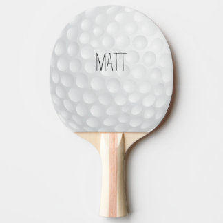 Personalized Golf Lodge Ping Pong Paddle