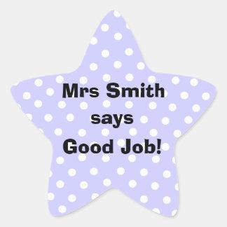 Personalized Good Job Teacher stickers