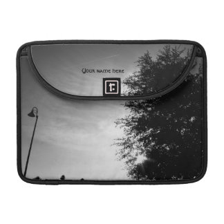 Personalized Good Morning - Black and White Sleeve For MacBook Pro