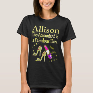 PERSONALIZED GORGEOUS GOLD PERSONALIZED T SHIRT