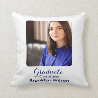Personalized Graduation Gift Throw Pillows