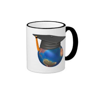 Personalized Graduation Ringer Mug
