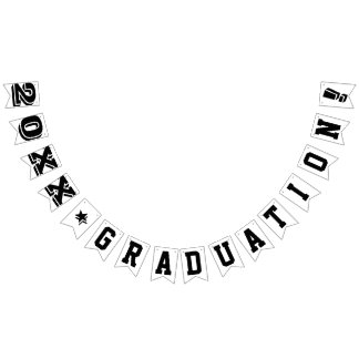 PERSONALIZED GRADUATION YEAR SIGN BUNTING