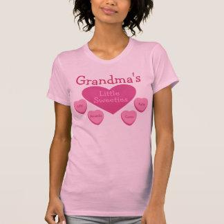 Personalized Grandma's Little Sweeties T-Shirt