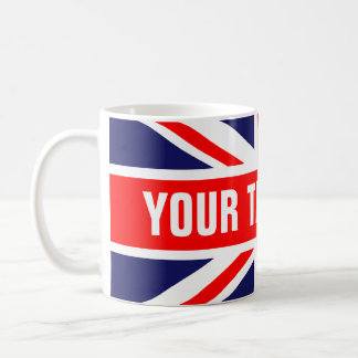 Personalized Great Britain Flag Mugs