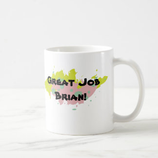 Personalized Great Job Mug (Color Scheme 3)