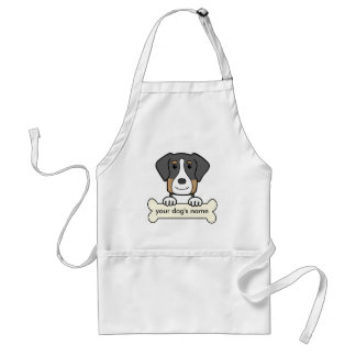 Personalized Greater Swiss Mountain Dog Apron