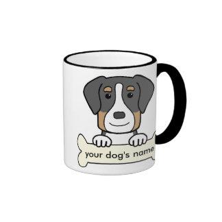Personalized Greater Swiss Mountain Dog Coffee Mugs