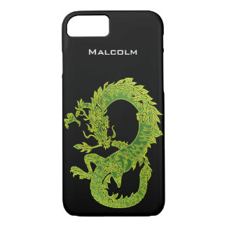 Personalized Green Dragon iPhone 7 Case