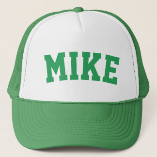 Personalized Green Short Name Trucker Hat