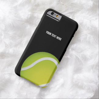 Personalized Green Tennis Ball Barely There iPhone 6 Case