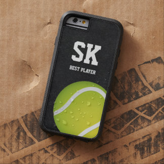 Personalized Green Tennis Ball Tough Xtreme iPhone 6 Case