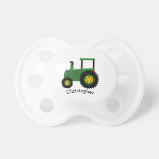 Personalized Green Tractor Dummy