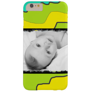 Personalized Green & Yellow Modern Abstract Case