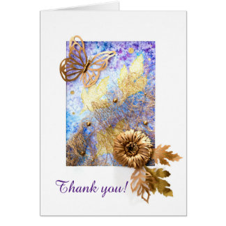Personalized Greeting Card with Butterfly