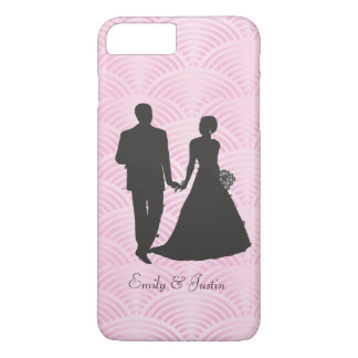 Personalized Groom and Bride iPhone 7 plus iPhone 7 Plus Case