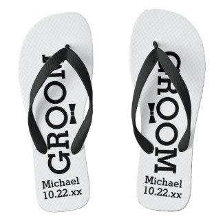 Personalized Groom Wedding - Custom Colors Thongs