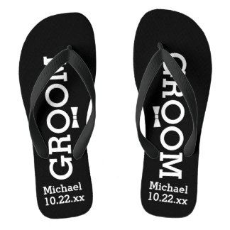 Personalized Groom Wedding - Pick Your Color Thongs