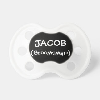 Personalized Groomsman Dummy