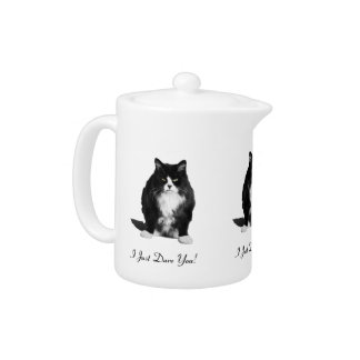 Personalized Grumpy Cat Teapot