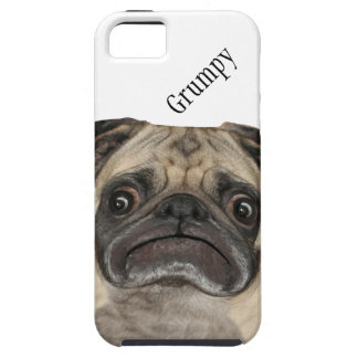 Personalized Grumpy Puggy Case For The iPhone 5