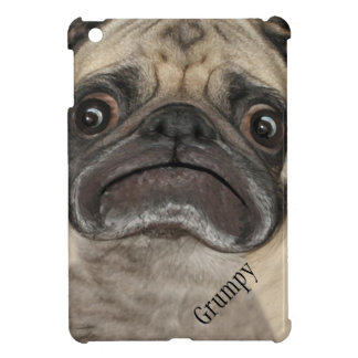 Personalized Grumpy Puggy iPad Mini Cases