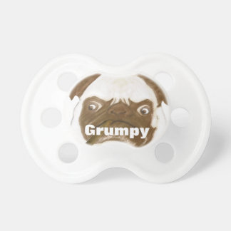 Personalized Grumpy Puggy with Cigar Dummy