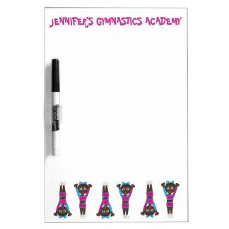 Personalized Gymnastics Acrobatics Dance Gym Dry Erase Board