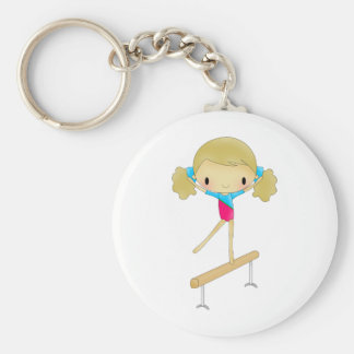 Personalized Gymnastics gifts and accessories Key Ring