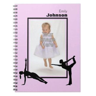 Personalized Gymnastics Notepad Notebook