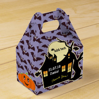 Personalized HALLOWEEN Gable Box Haunted House