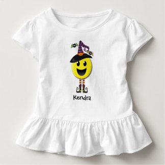 Personalized Halloween Happy Emoji T-shirt