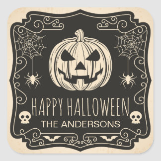 Personalized Halloween Party | Sticker Seal