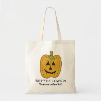 Personalized Halloween Pumpkin Trick or Treat