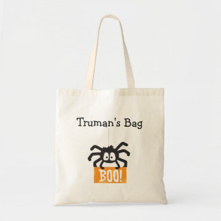 Personalized Halloween Trick or Treat Bag / Tote