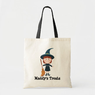 Personalized Halloween Witch Treat Bag