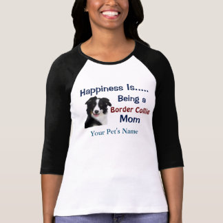 Personalized Happiness is Dog Mom Women's T-Shirt