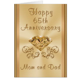 happy 65th wedding anniversary gifts t shirts art posters other gift ideas zazzle. Black Bedroom Furniture Sets. Home Design Ideas