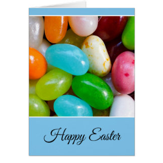 Personalized Happy Easter Jelly Bean Card