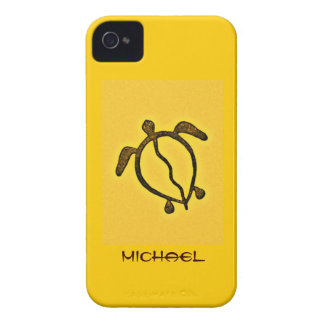 Personalized Hawaiian Style Turtle Case-Mate iPhone 4 Case