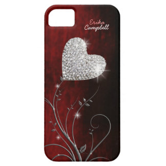 personalized heart girly love iPhone 5 cases