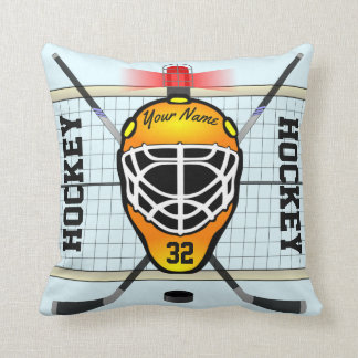 Personalized Hockey Cushion
