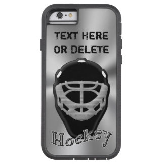 Personalized Hockey iPhone Case, iPhone 6S or  6 Tough Xtreme iPhone 6 Case