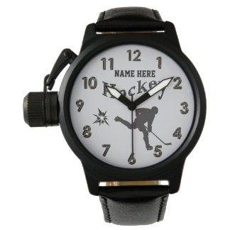Personalized Hockey Watches for Coach and Players
