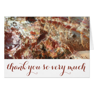 Personalized Holiday Thank You Card